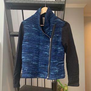 Anthropologie adorable blue tweed Moro jacket
